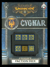 Warmachine Faction Dice Set Cygnar