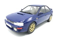 Subaru Impreza WRX RHD 1995 Bleu - 1:18 Ixo >> NEW <<