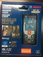 Bosch GLM50CX BLAZE Laser Distance Measurer with Bluetooth 165 ft GLM 50 CX NEW