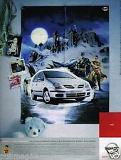 Publicité advertising 2002 Nissan Tino Haribo