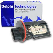 Delphi Mass Air Flow Sensor for 2003-2015 GMC Savana 3500 6.0L V8 - MAF cf