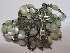 "† SCARCE ""PASSIONIST"" SOIL RELIC CRUCIFIX ROSARY TOUCHED TO SAINT PAUL CROSS †"