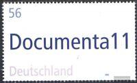BRD (BR.Deutschland) 2257 (kompl.Ausg.) gestempelt 2002 11. Documenta