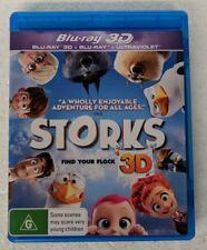 STORKS - 3D Blu-Ray + 2D Blu-Ray Region B oz seller