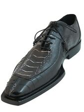 Mauri Ostrich Leg Fashion Dressy Lace Up Shoes 4354