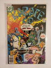 KARATE KID #9 (VF/NM 9.0) BRONZE AGE; PULSAR COVER & APPEARANCE