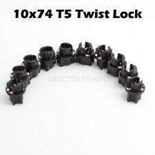 10 set T5 74 2721 Twist Lock Socket Bulb Holders for Instrument lighting plug