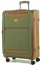 Member Boston Large  Size Light weight Luggage with Trolley  Olive Green colour