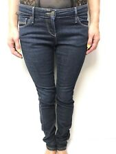 SASS & BIDE dark blue denim jeans skinny leg sz 27 LOW RISE