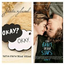 """ciondolo """"okay?okay!"""" film tutta colpa delle stelle the fault inour stars collan"""