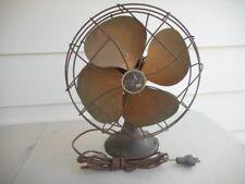 Vintage Emerson Electric Brass // Bronze Blade Working Fan 30's 40's Estate Find