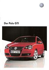 Prospectus/Brochure VW Polo GTI 10/2008