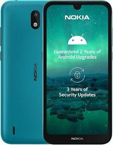 "Nokia 1.3 5.7"" CYAN 1GB 16GB LATEST Android 10, WiFi Dual Sim Unlocked/SimFree A"