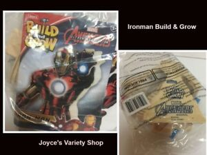 Lowe's Avengers Build & Grow Iron Man Ages 5+ Wood Toys
