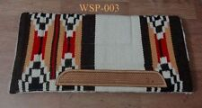 Yes woolen Western Horse Saddle Pads horse perfect to Use with Saddles