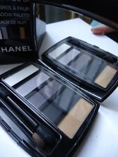 Oiseaux De Nuit Les 5 Ombres De CHANEL New 5 Eyeshadow Greys Palette Creased Box