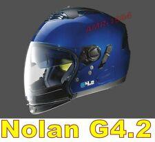 Grex G4.2 PRO KINETIC N-COM  Casco Integrale da Moto Taglia S - Nero Opaco