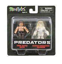 Predators Minimates Series 3 Royce & Cloaked Berserker Predator