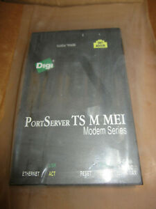 DIGI PORTSEVER TS 70002357 3+M MEI MODEM SERIES WITH AC ADAPTER