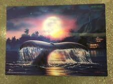 Christian Lassen Hologram 3D Effect Ancient Mysteries Maui Hawaii Plastic Poster