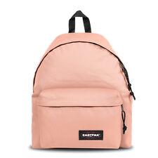 Zaino Ragazza Eastpak Padded Pak'R Rosa 40 cm Comfy Coral Pink Girl Zip Backpack