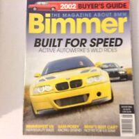 Bimmers BMW Magazine Active Autowerke's Wild Rides August 2006 052617nonrh2