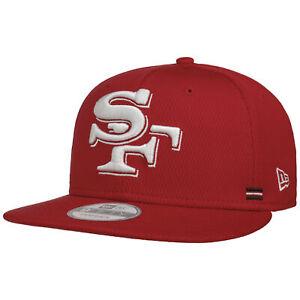 NEW ERA 9Fifty 49ers Sideline Alt Cap Basecap Baseballcap Flat Brim Snapback