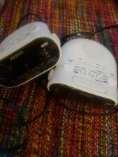 Sony Ifc-C318 Dream Machine pair of alarm clocks