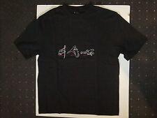 Nuevo camisa t camisa L negro no fear enduro, Cross, MX, Racing