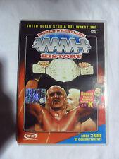 WORLD WRESTLING HISTORY WWH Hulk Hogan Tiger Mask Andre the Giant DVD
