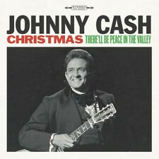 JOHNNY CASH CHRISTMAS Peace In The Valley LP Vinyl BRAND NEW