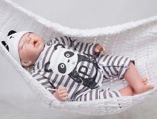 20inch Newborn Realistic Silicone Reborn Baby Doll Sleeping Infant Soft Unisex