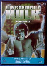 L'INCREDIBILE HULK - STAGIONE 3 - EPISODI 17-20 - DVD N.02645