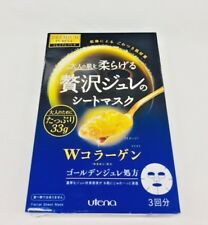 Utena Premium Puresa Golden Jelly Face Mask W-Collagen s8184