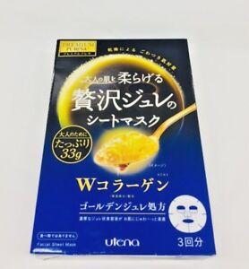 Utena Premium Puresa Golden Jelly Face Mask W-Collagen s8184