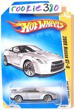 2009 Hot Wheels NEW MODELS #1 * 2009 NISSAN GT-R * SILVER VARIANT GODZILLA '09