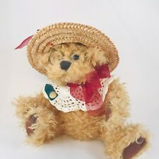 Teddy Plush Vintage Rosie Bear of Joy Pickford Bears Brass Button Collection