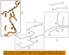 TOYOTA OEM 11-16 Sienna Hoses Pipes-Air Conditioner Heater-Front Hose 8720908030
