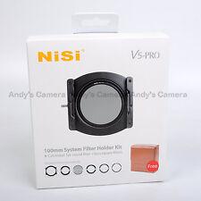 Nisi 100mm System V5 Pro Filter Holder + 67,72,77,82mm Adaptor Ring + CPL + Case