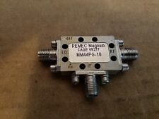 Magnum Microwave MM44PG-10 Frequency Mixer SMA(f) 2-8GHz RF LO REMEC 59277 #017