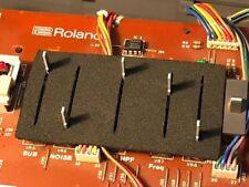 Neoprene slider dust covers for Roland Juno 106  (and HS60)