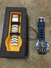 Borealis Portus Cable Automatic Men's Watch With Interchangeable Bands