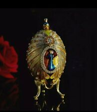 New listing Lovely Yellow Gold Peacocks Faberge Eggs