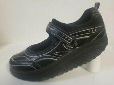 Skechers Shape Up'S Black Mary Jane's Fitness Exercise Walking Shoes Size 9.5 (9