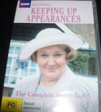 Keeping Up Appearances Series 3 & 4 (Australia All Region) DVD – New
