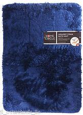 """Home Circle Soft Top Memory Foam Bath Kitchen Mat 17x24"""" - Sudden Sapphire - NEW"""