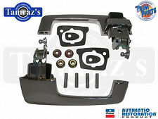 66-67 Mopar B Body Outside Door Handle Black Button USA MADE Trim Parts MP5211