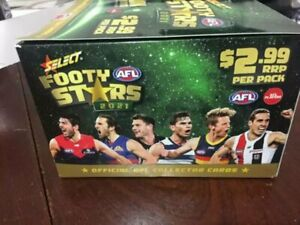 2021 Footy Stars Box brand new 36 packets