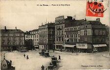 CPA  Le Mans - Place de la République    (299447)