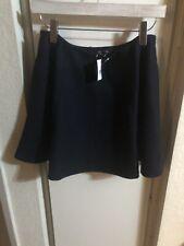 theory Flate Wool Cashmete Short Skirt Sz 6
